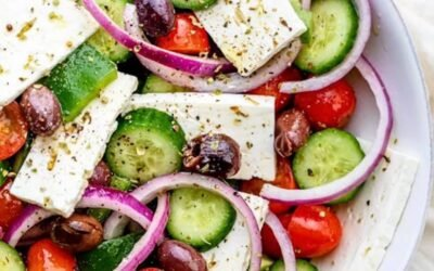 Greek Salad is always a must!