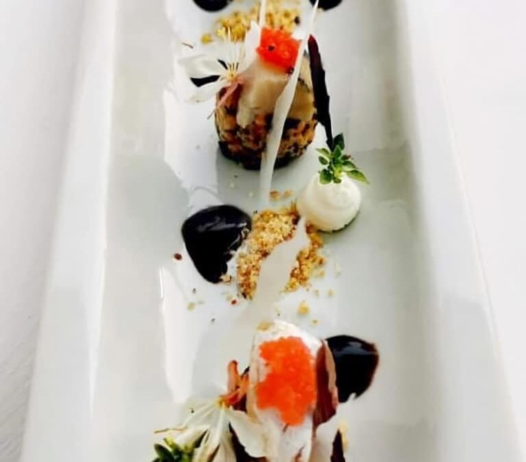 Unique flavors perfectly combined by chef Alexander Synagri.