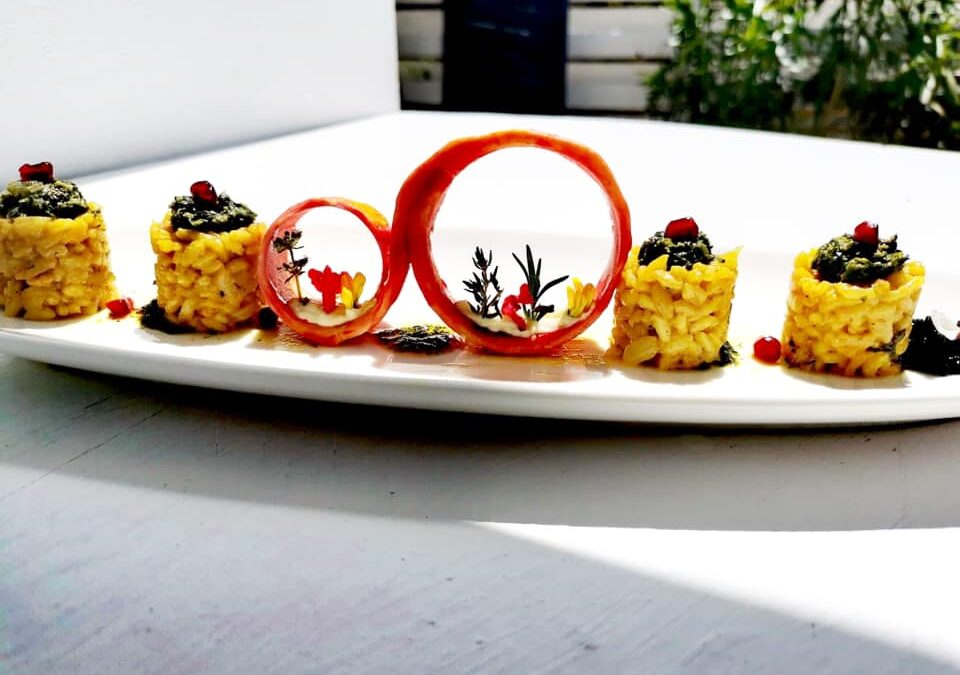 Our chef, Alexander Synagris create for you unique dishes full of aromas and Mediterranean flavors. Enjoy!