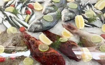 Fresh fishes just arrived📍Spiaggia bianca 🐟